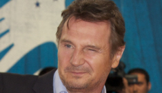 Liam Neeson hangs out with Coco Austin, drops trou for cancer research
