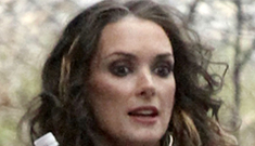 Winona Ryder's new ombre hair extensions: genuinely cool or too trashy?