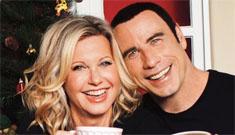 John Travolta and Olivia Newton John put out a campy Christmas album together