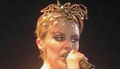 Is Kylie Minogue a pot head?