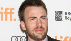 Chris Evans cruised a gay bar w/ his brother & a hot chick who isn't Minka Kelly