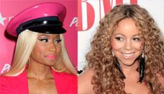 Mariah Carey has hired extra security after Nicki Minaj's alleged death threat: theatrics?