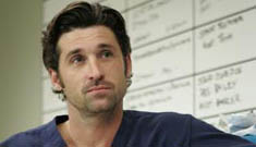 Patrick Dempsey in yet another medical hero scene