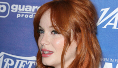 Christina Hendricks lashes out at reporter: 'I think calling me full-figured is just rude'