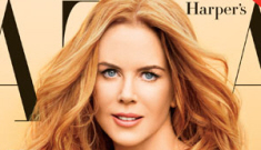 Nicole Kidman's Uncle Terry pictorial for Harper's Bazaar: awful or interesting?