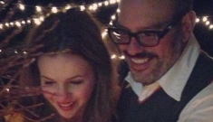 Amber Tamblyn's wedding photos: the bride wore yellow, went shoeless