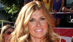 Connie Britton on adopting as a single mom: 'I assumed I'd be doing it with a man'