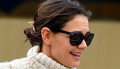 Katie Holmes 'flourishing in her new life,' doesn't plan on dating anytime soon