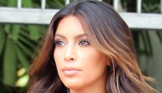 Kim Kardashian in a too-tight LBD in Miami: unflattering or sexy?