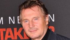 Liam Neeson admits he's very well-endowed & he dated Barbra Streisand