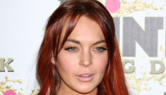 "Lindsay Lohan says she'll vote for Mitt Romney, says Dina was ""not on cocaine"""