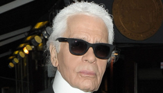 Karl Lagerfeld on anorexia in the fashion industry: 'Nobody works with anorexic girls'