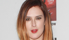 Rumer Willis shows off her ombre hair & a slinky LBD: awful or cute?