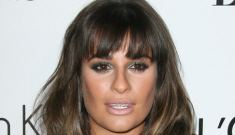 Lea Michelle in sheer Zimmerman at the Elle event: trashy or not that awful?