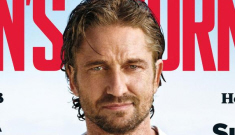 """Gerard Butler covers Men's Journal: """"I haven't had a drink in 15 years"""""""