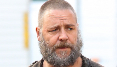 Russell Crowe is furry & in costume as Biblical 'Noah': would you hit it?