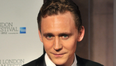 Tom Hiddleston, lovely & dashing in a tuxedo in   London: would you hit it?