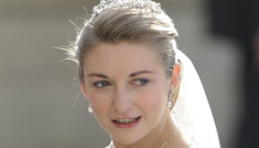 Prince Guillaume of Luxembourg marries Elie Saab-clad Countess Stephanie