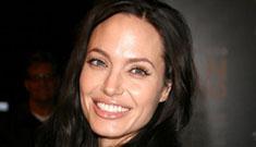 Angelina Jolie at the 'Gran Torino' premiere