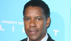 Could Denzel Washington win his third Oscar for his role in 'Flight'?