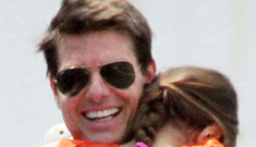 Tom Cruise sues L&S for 'abandoned by daddy' story, hasn't seen Suri for 13 wks
