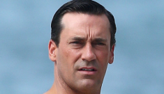 Jon Hamm/Don Draper, shirtless in Hawaii for 'Mad Men': sexy or not so much?