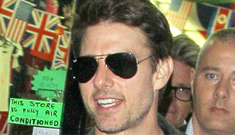 Tom Cruise now flirts with Connor's club pals, including Playboy models: gross?