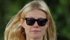 Gwyneth Paltrow & Chris Martin take their kids to school in LA… together?!?