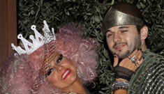XTina's Halloween costume was as trashy and bizarre as you would expect from her