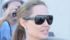 Angelina Jolie takes Shiloh, Vivienne & Knox shopping for Halloween: super-cute?