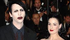 "Marilyn Manson ""still pines"" for Dita Von Teese"