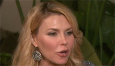 Brandi Glanville on Adrienne's face: she's looking like 'that catwoman chick'