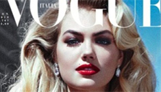 Kate Upton covers Vogue Italia's 'seductive' issue: gorgeous or trashy?