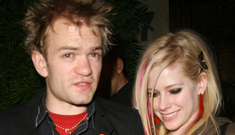 Avril Lavigne's ex & his pal dressed up as her & Chad Kroeger for Halloween