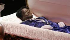 James Brown not buried yet