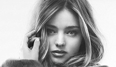 Miranda Kerr & her booty cover Esquire UK: appealing   or too airbrushed?