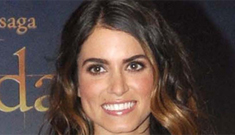 "Nikki Reed, advocate of dry shampoo: ""I wash my hair maybe once or twice a week"""