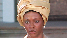 Zoe Saldana in character as Nina Simone: is this a joke or can she pull it off?
