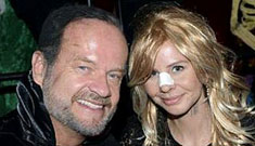 Kelsey Grammer had current wife dress like ex wife Camille for Halloween: obsessed?