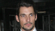 David Gandy shows off his newish girlfriend in London: attractive couple?