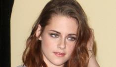Kristen Stewart in a Bec & Bridge minidress at the HFPA: cute or basic?