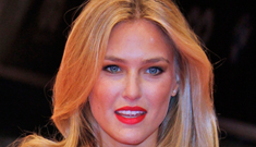 Bar Refaeli took her hot brother to GQ awards: will   she get back w/ Leo?