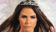 """Katie Price's """"white wedding"""" promotional photo shoot: the best thing ever?"""