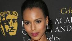 Kerry Washington in hot pink Temperley London: lovely or unflattering?
