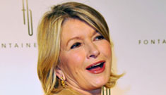 Martha Stewart gets wasted & cooks dessert, loathes Rachael Ray