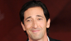 Adrien Brody looks fancy & clean at the Rome Film   Festival: would you hit it?