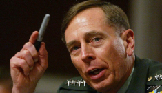 David Petraeus resigns from CIA after his mistress threatened perceived rival
