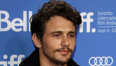James Franco, nominated for blog award, on blogs: 'I see why they must hate me'
