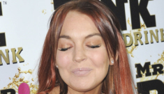 Lindsay Lohan calls herself a (crackie) 'survivor': what did she 'survive' again?