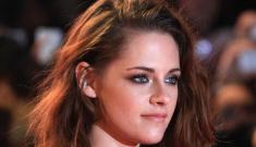 Kristen Stewart in a Zuhair Murad jumpsuit at 'BD2′ UK premiere: slightly improved?